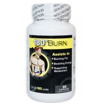 Lean 180 Burn – Best Weight Loss Supplement, Get Lean, Burn Body and Belly Fat, Break Through Plateaus, 100% All Natural Formula, Triple Strength (60 Capsules)