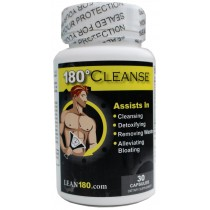 Lean 180 Cleanse - All Natural Weight Loss and Cleanse Supplement, Detox Your Body, Reduce Belly Bloating, Feel Better, Slim Down, Strong, Effective 15 Day Formula (30 capsules)
