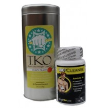 Fuzzy Peach T.K.O. Weight Loss Tea and Lean 180 Cleanse