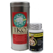 T.K.O. Weight Loss Tea (Sweet Mint) and 180 Cleanse